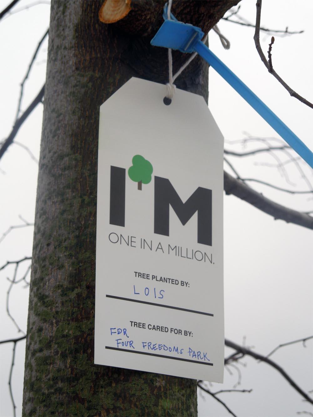 Million Tree Campaign tag