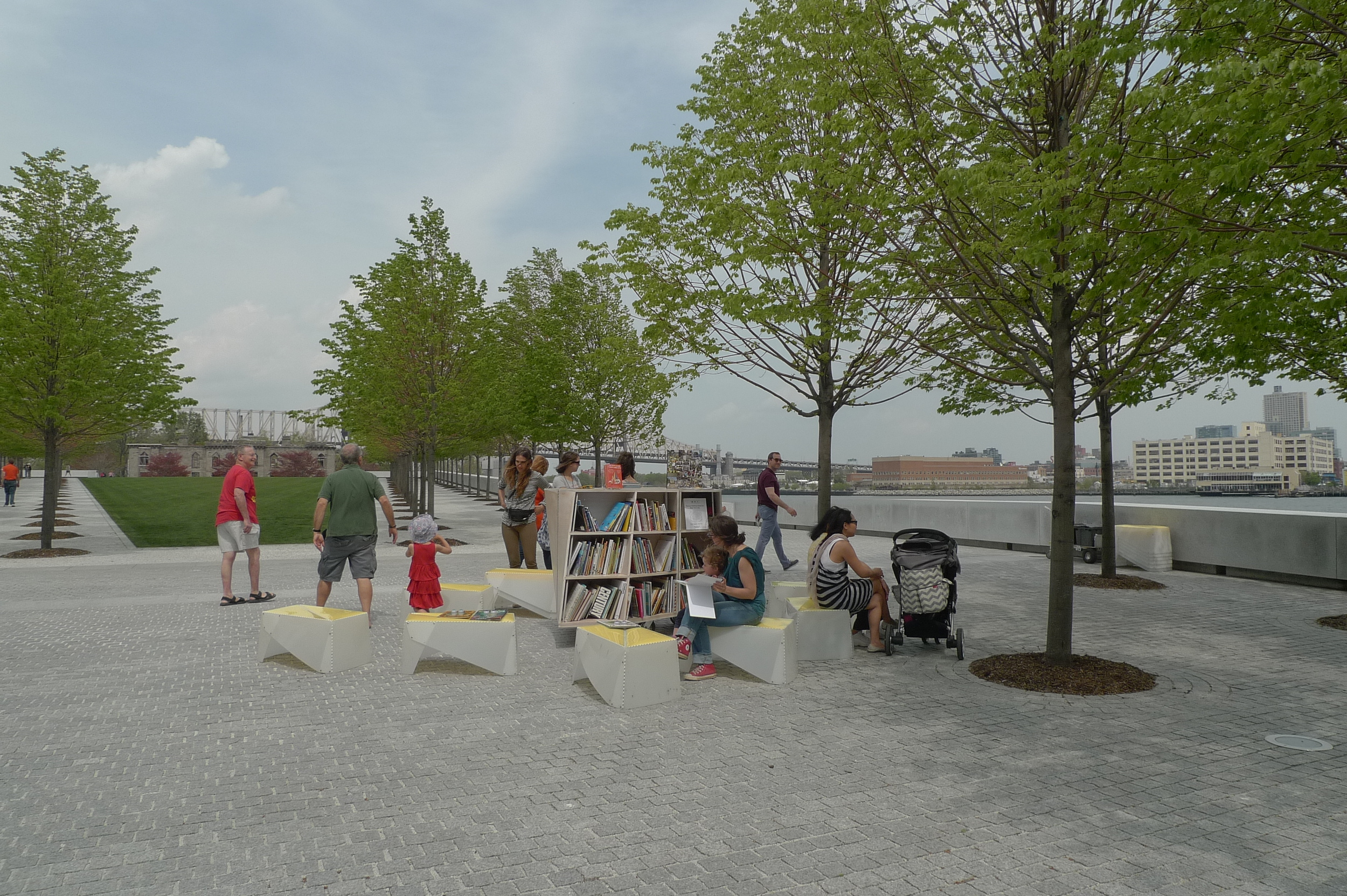 The Uni Project at Four Freedoms Park in May 2014