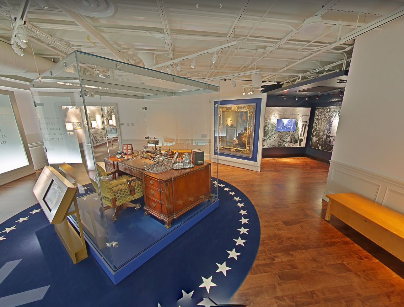 FDR LIbrary and Museum, Courtesy Google Streetview