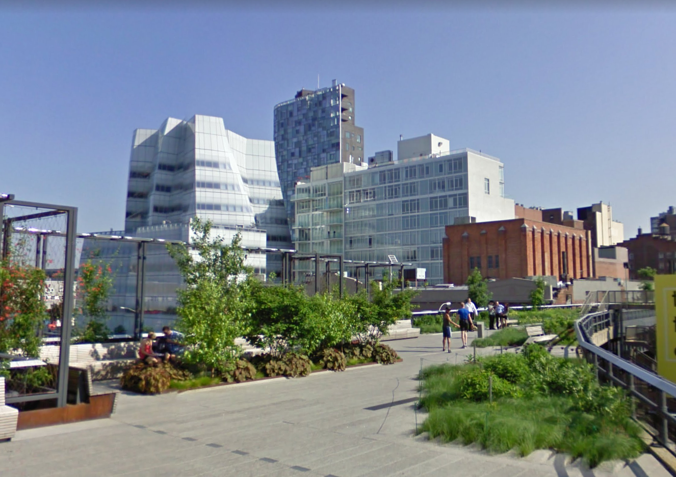 The High Line, Courtesy Google Streetview
