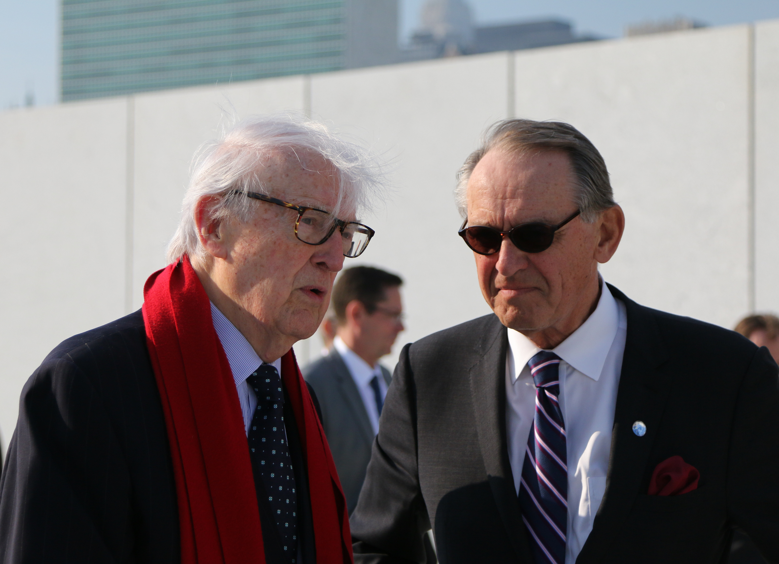 Ambassador William vanden Heuvel & UN Deputy Secretary-General Jan Eliasson