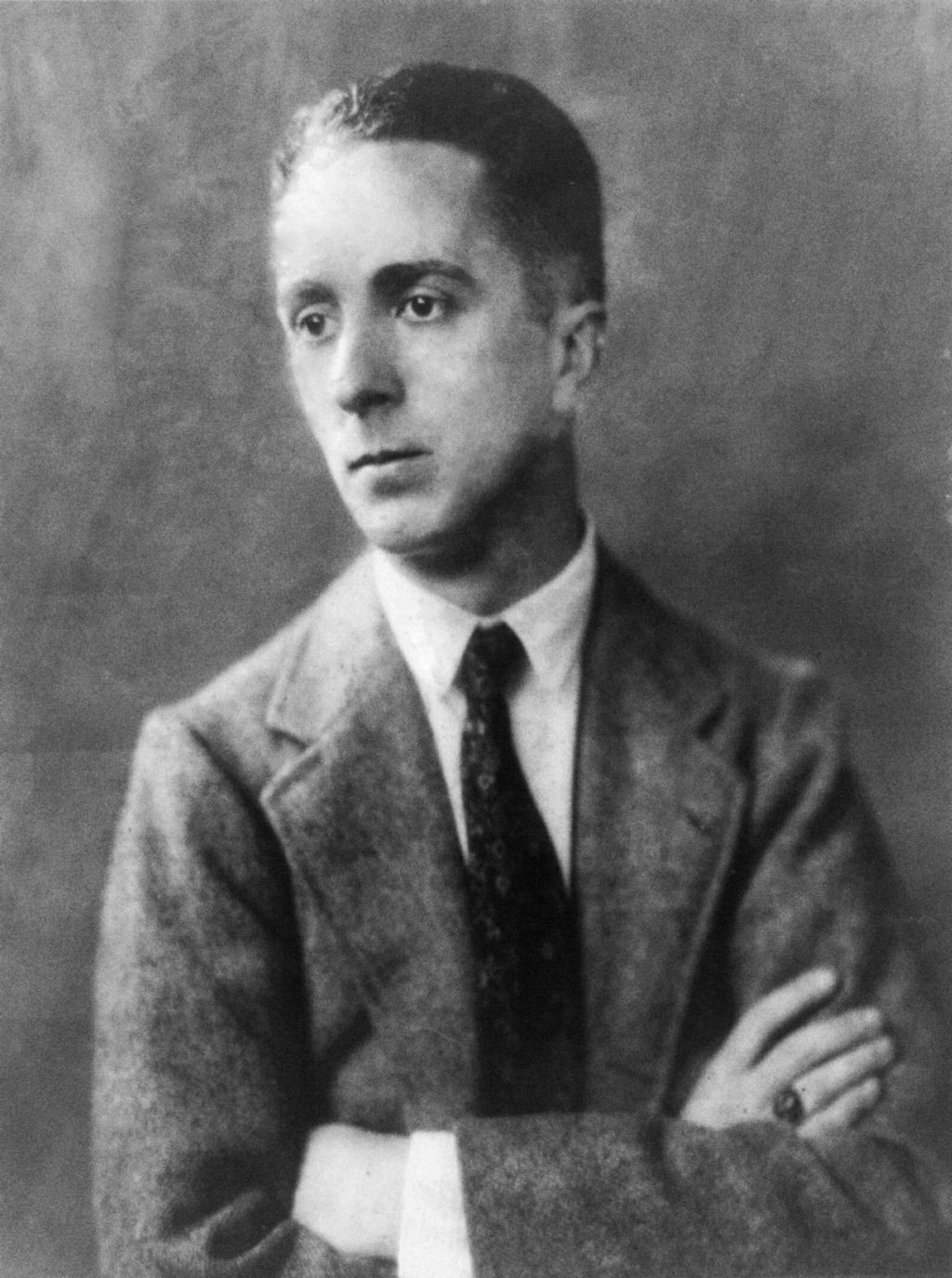 Norman Rockwell, circa 1921 Courtesy, Library of Congress