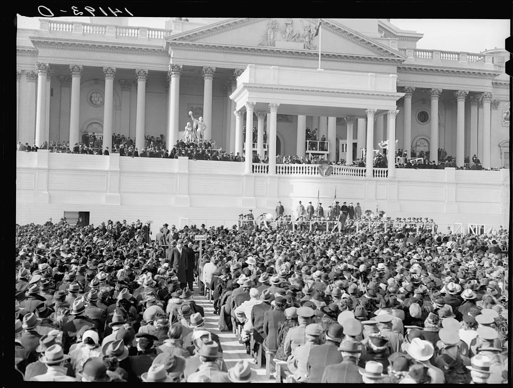 Inauguration day, 1941, Washington, D.C.