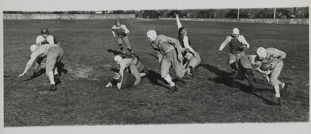 Cleveland High school six man team