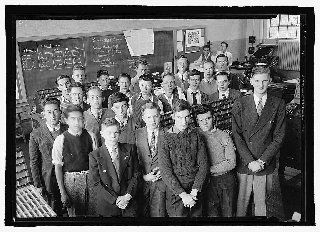 Students, Eastern High School