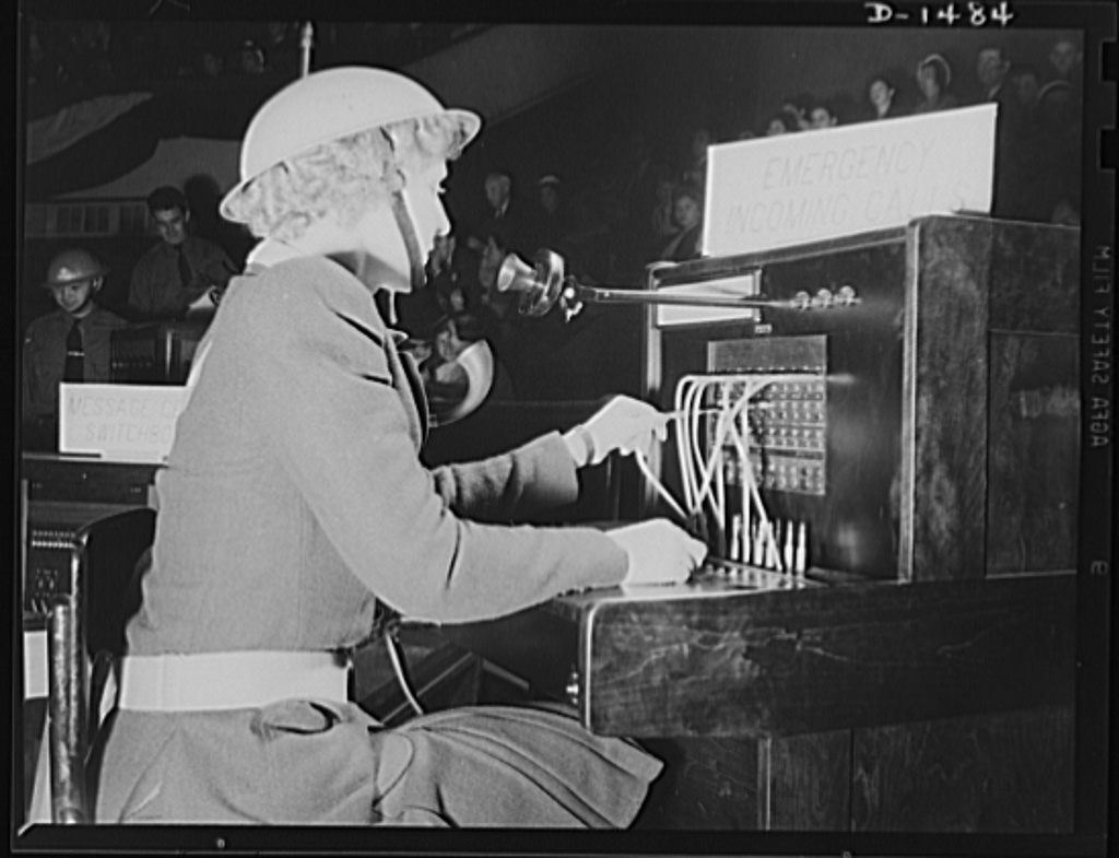 Civilian defense. Telephone communications are an essential part of civilian defense