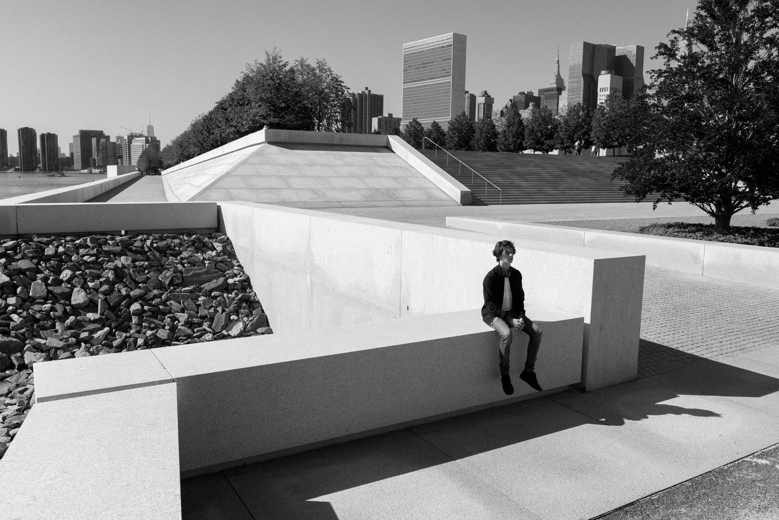 The winner of Four Freedoms Park's 3rd Annual Photo Contest: Lev Katreczko
