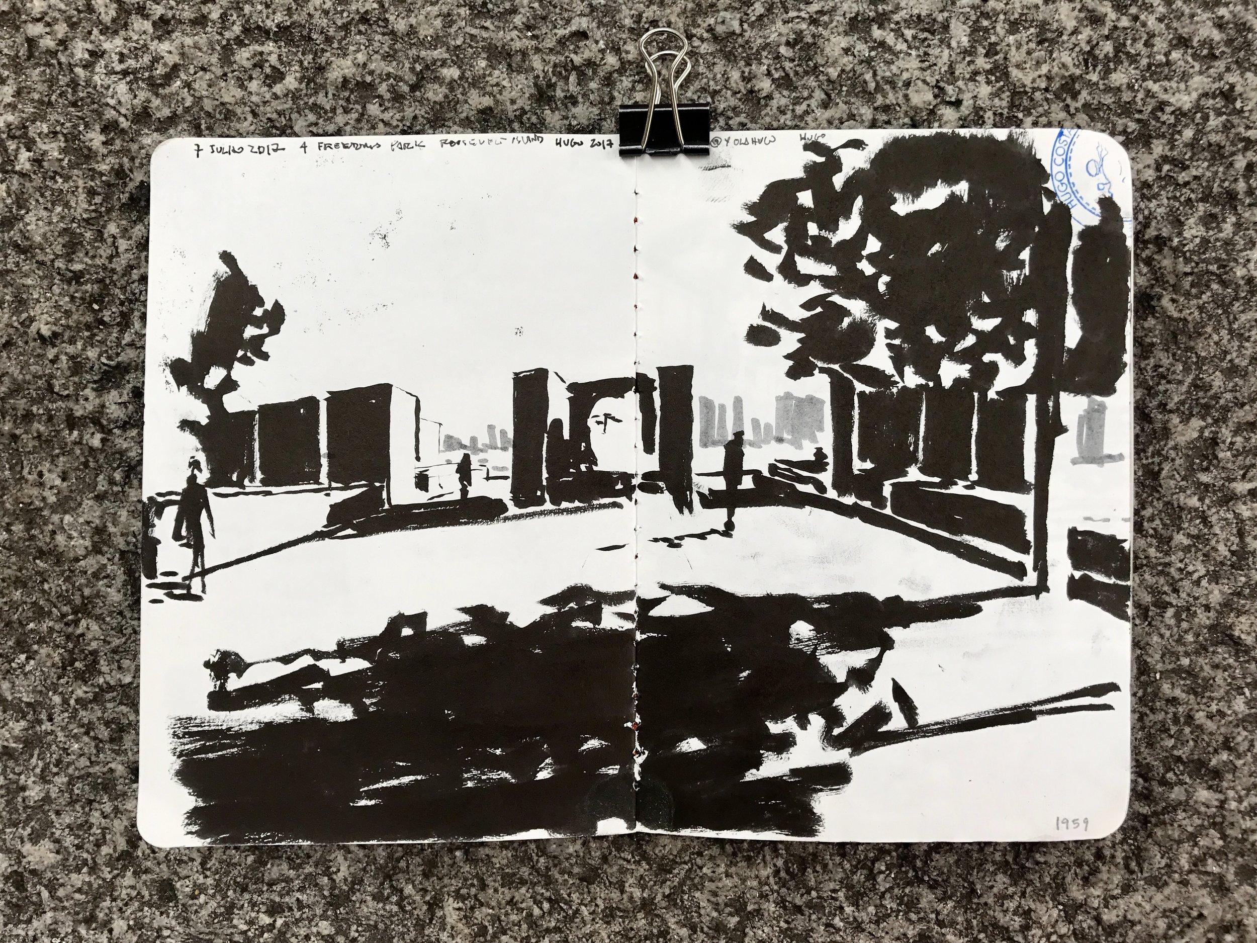 """Walking on Freedom 2"" by Hugo Costa"