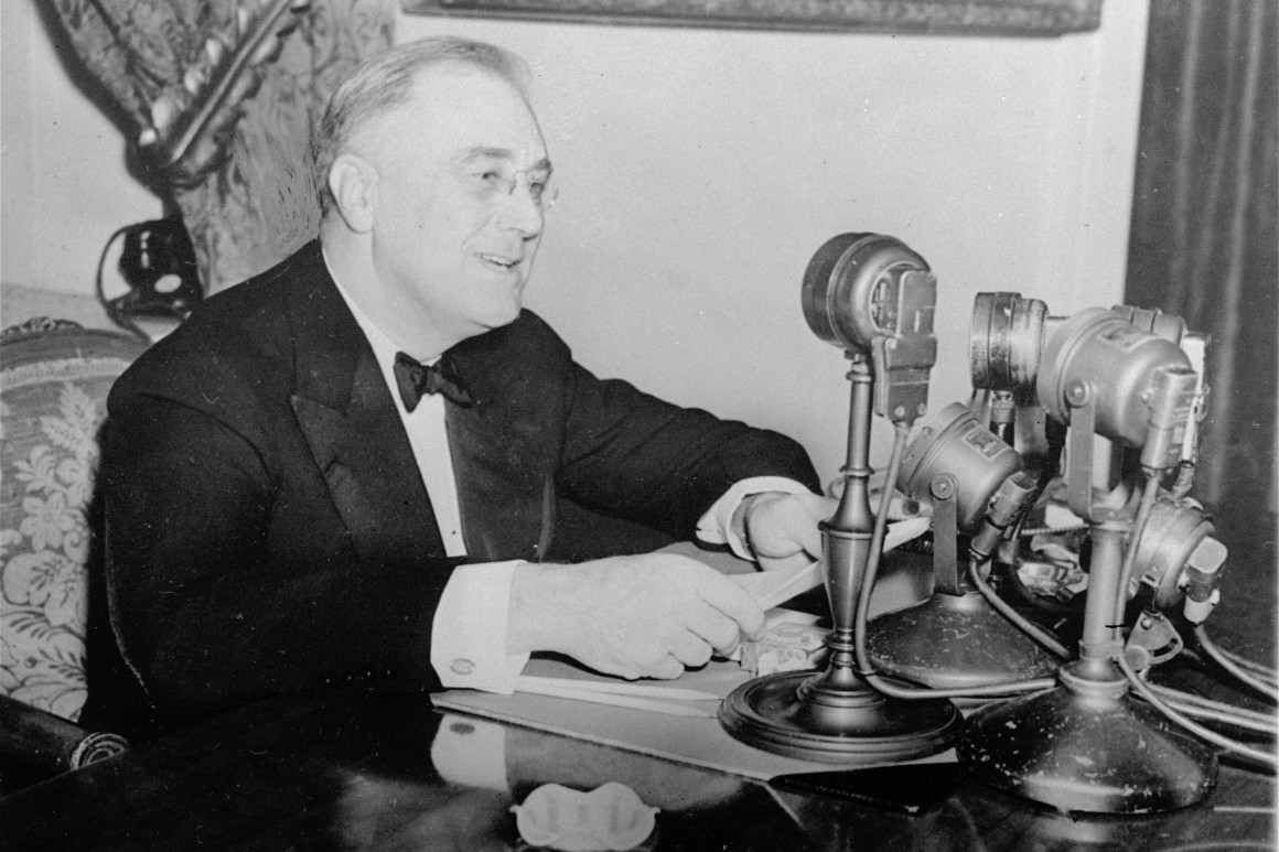 FDR Addresses the Nation