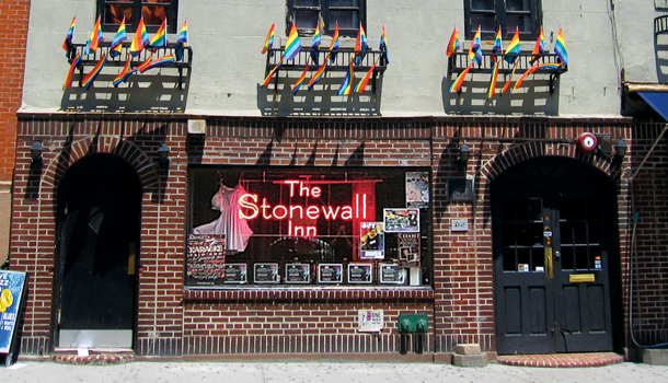 The Stonewall Inn is now a national monument