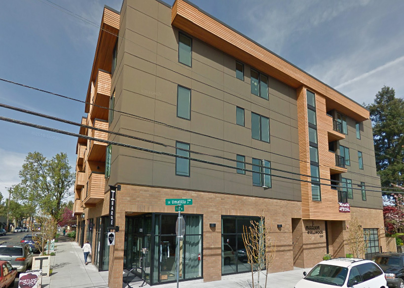The Madison,1315 SE Umatilla, Portland, OR 97202 - Completed