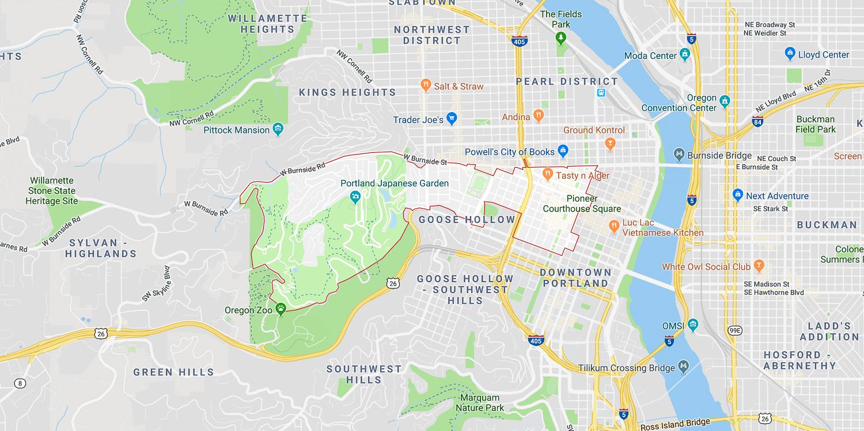 Zip Code Map Portland on