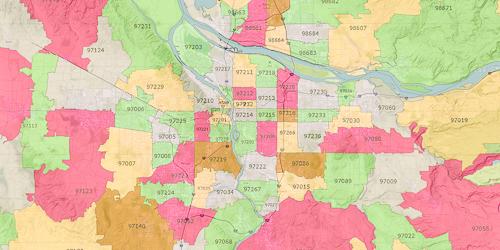Zip Code Map - VIEW LARGER