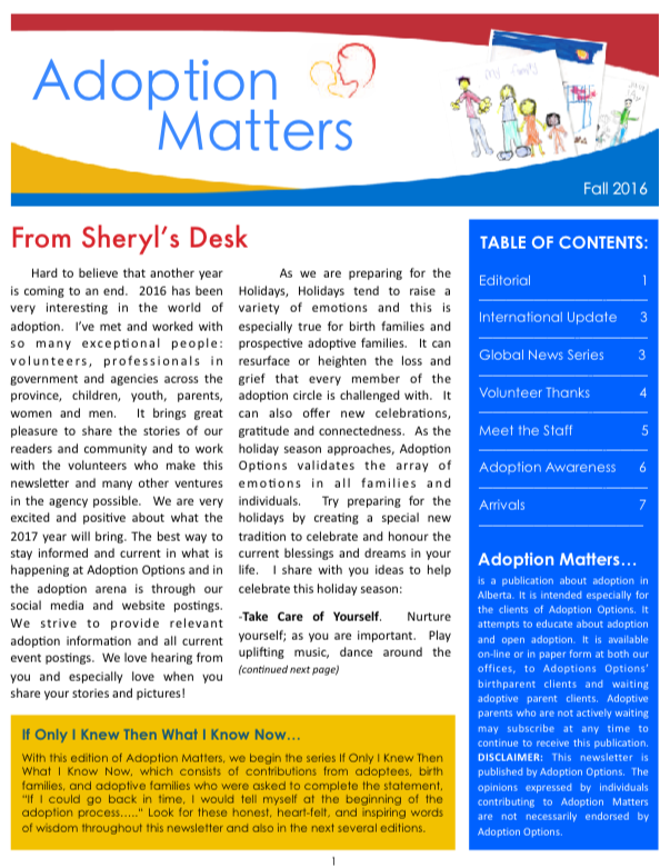 Click the image to download the most current newsletter