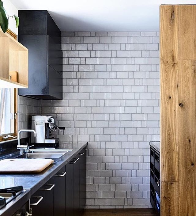 One beautiful custom tile wall, by @anchorceramics
