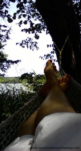 How writing the personal essay is like lying in a hammock.png