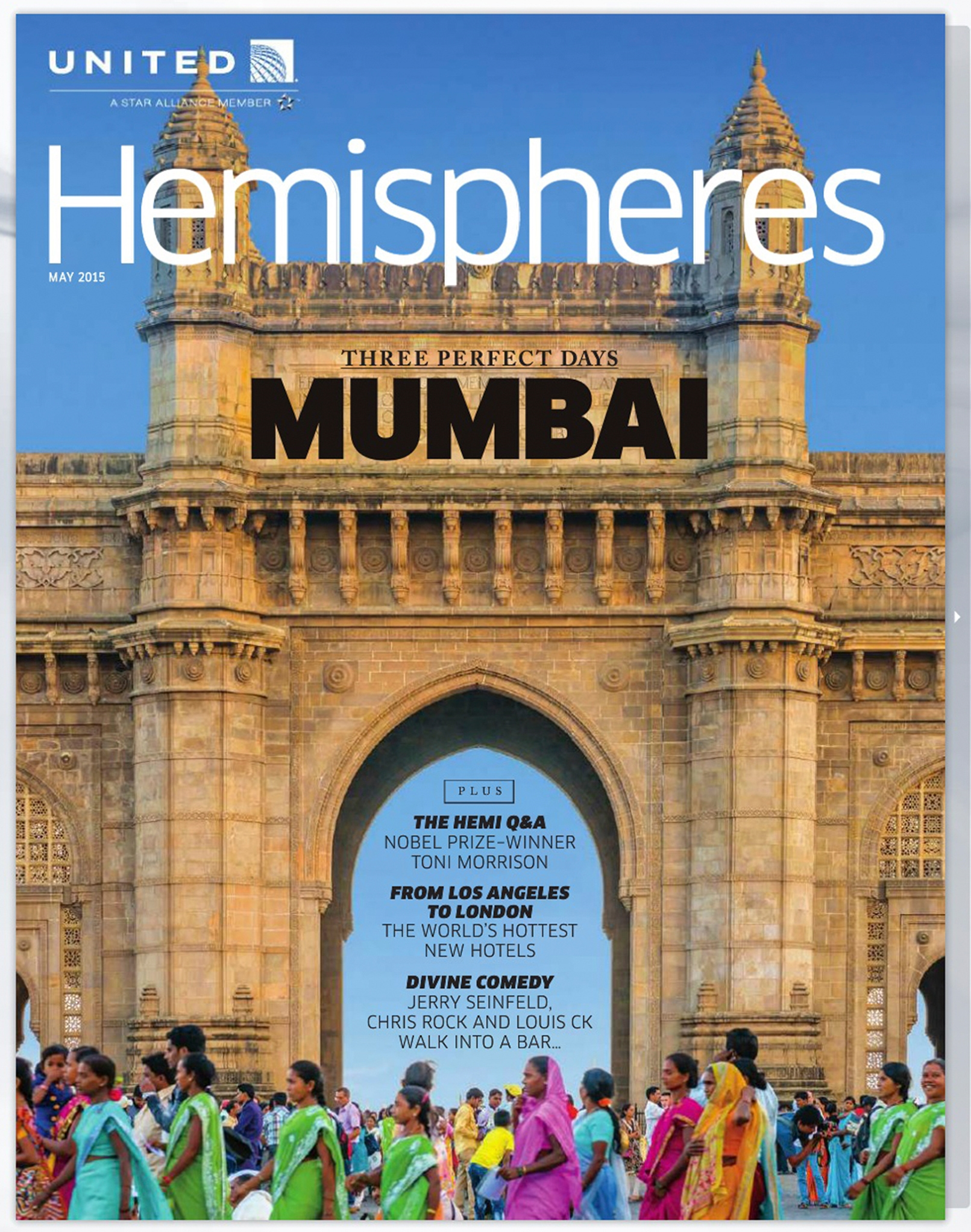 United Airlines Hemispheres Cover
