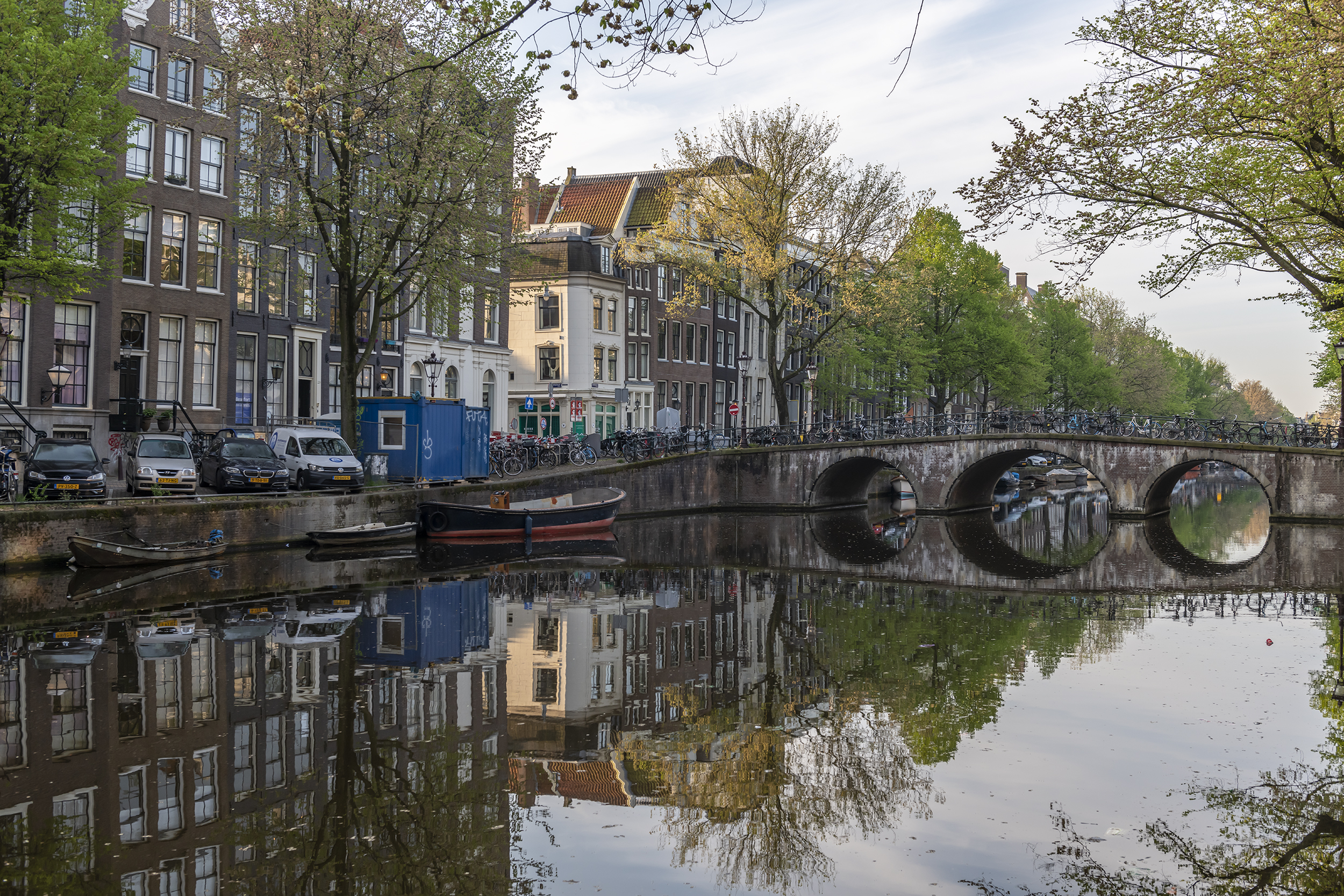 Prinsengracht Reflections