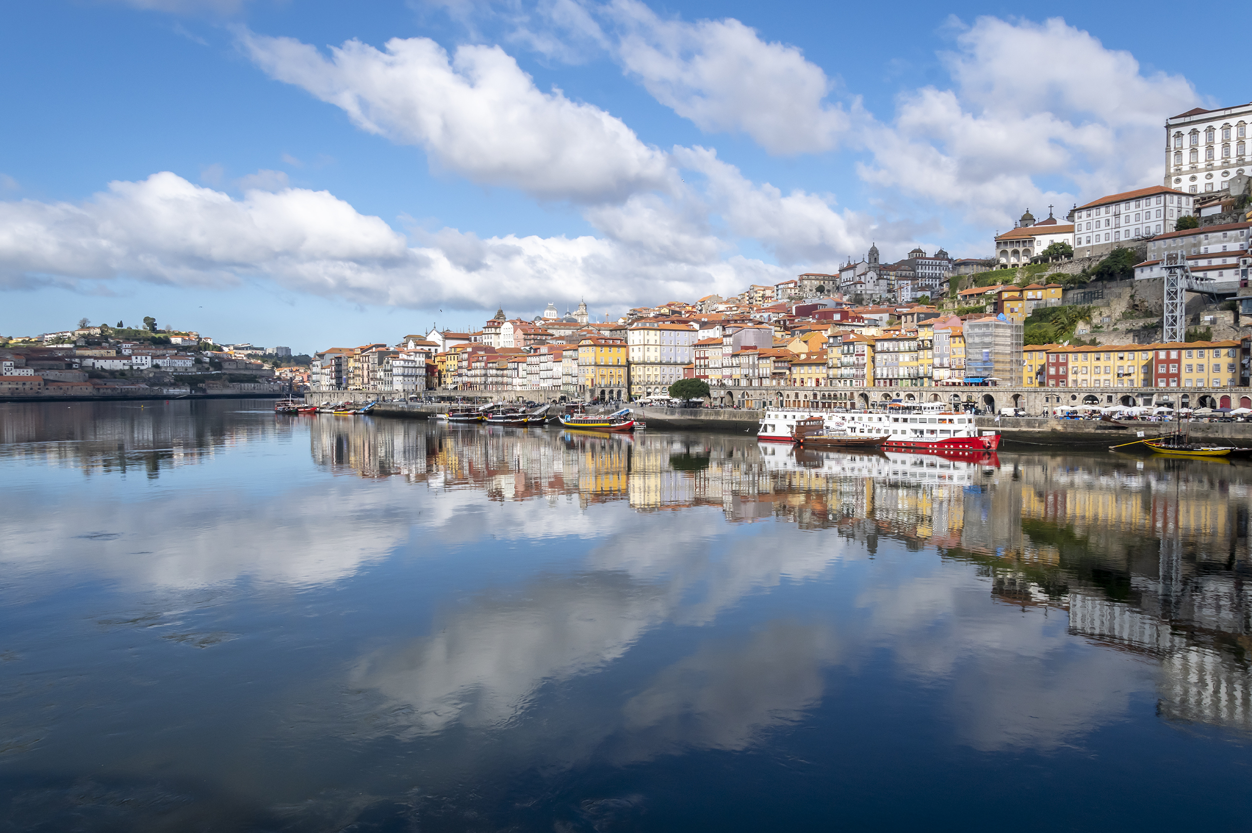 Morning Reflections, Porto