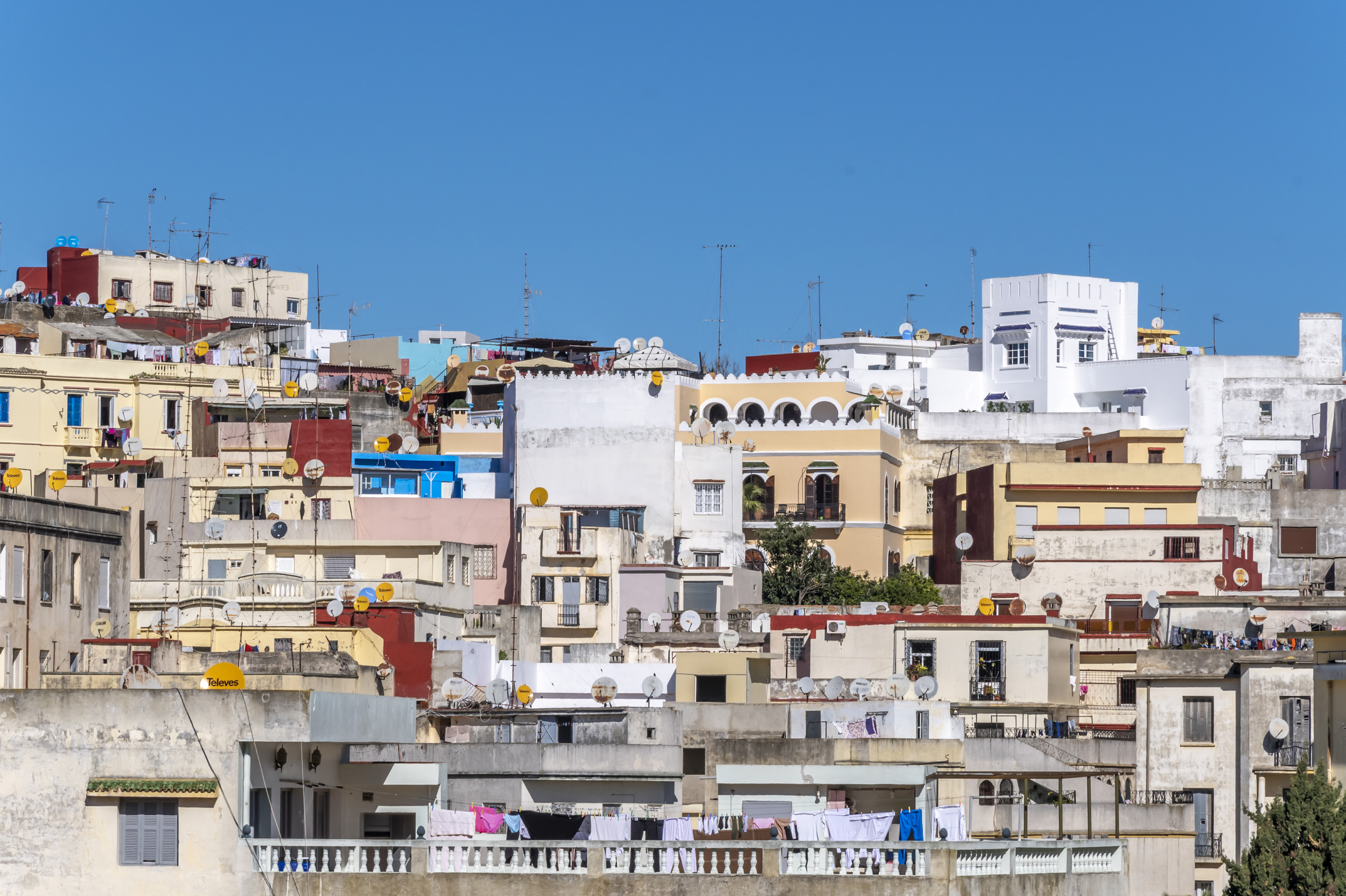 Skyline of Tangier
