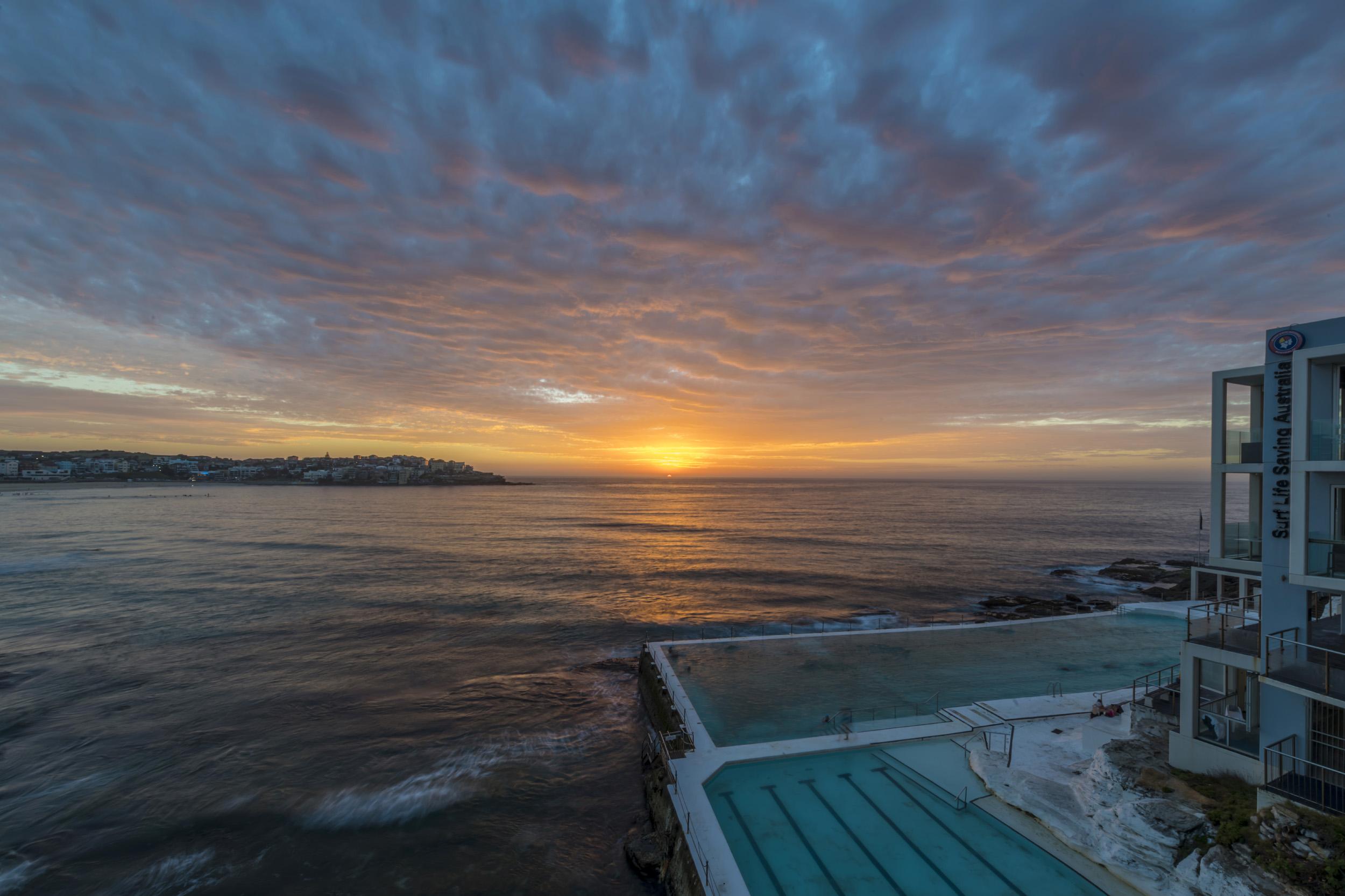 Sunrise over Bondi