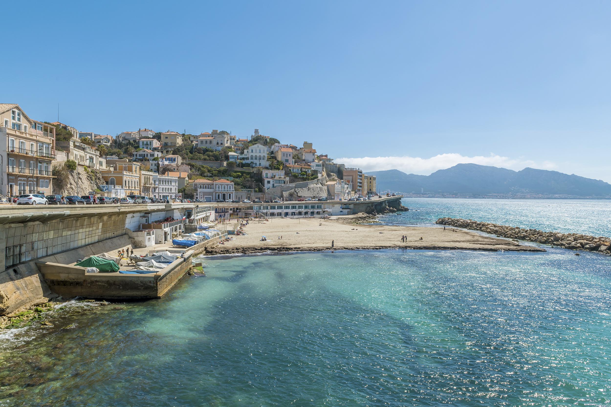 Coastline of Marseille