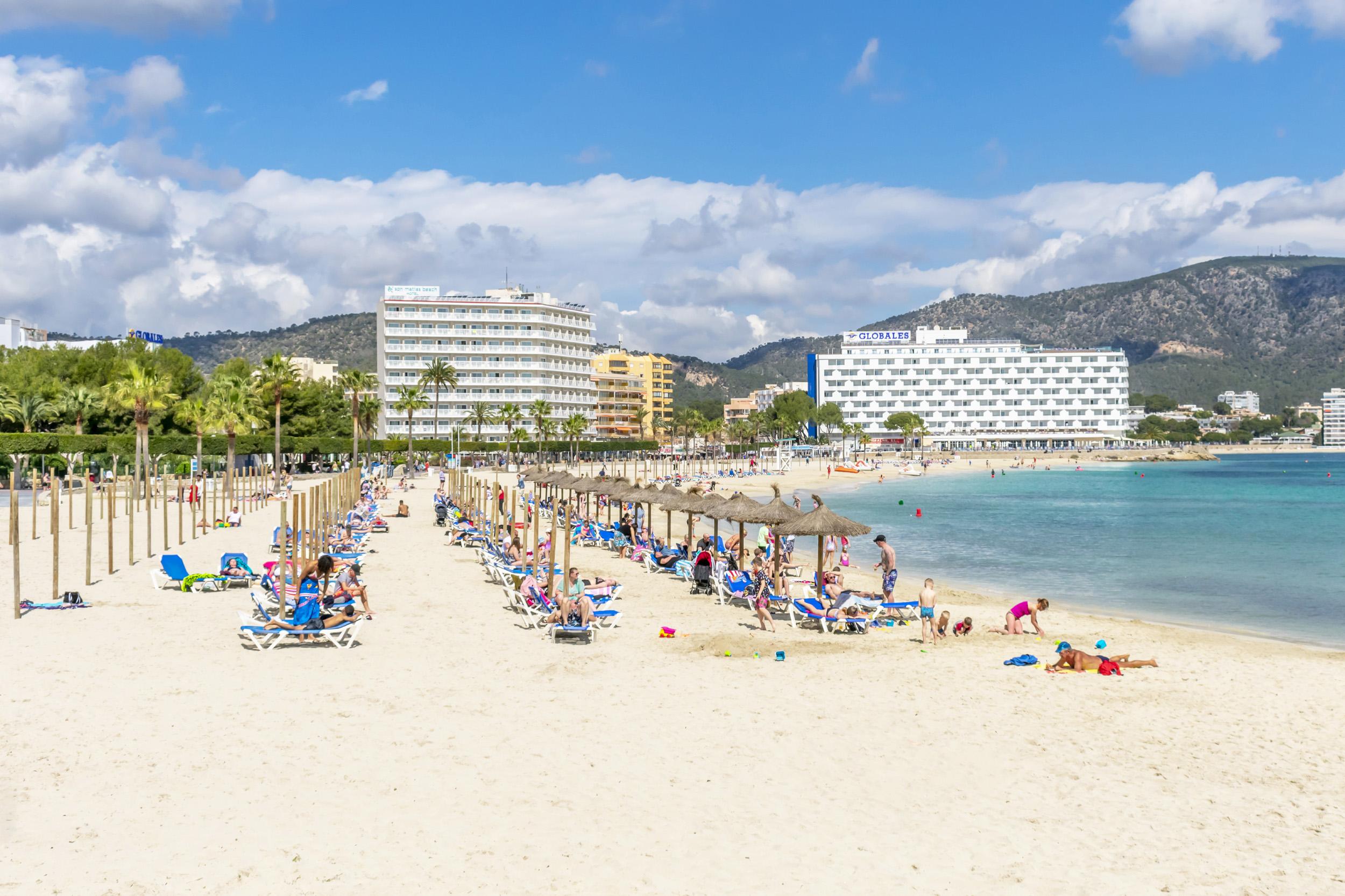 Cala Major Beach