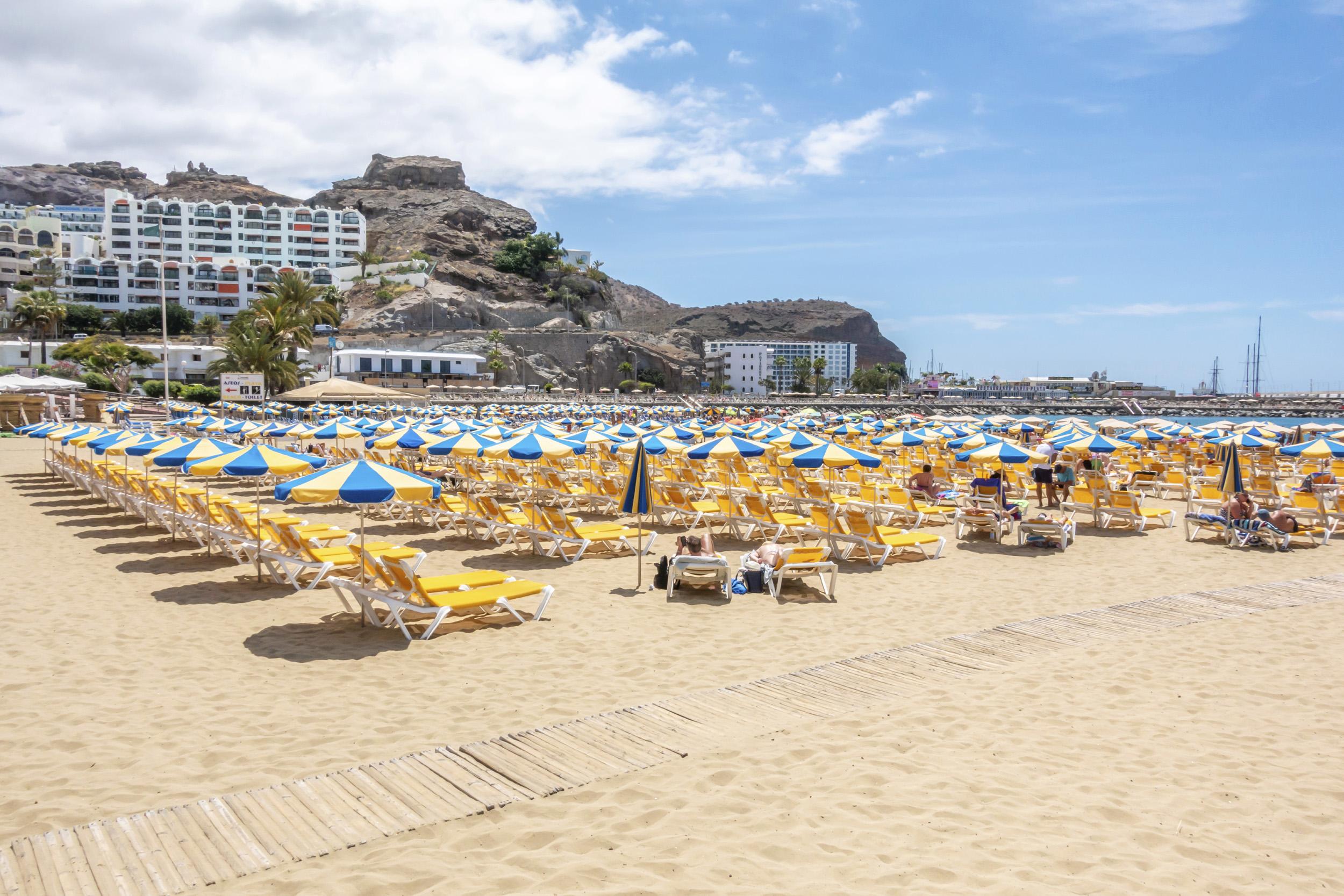 Puerto Rico Beach, Gran Canaria