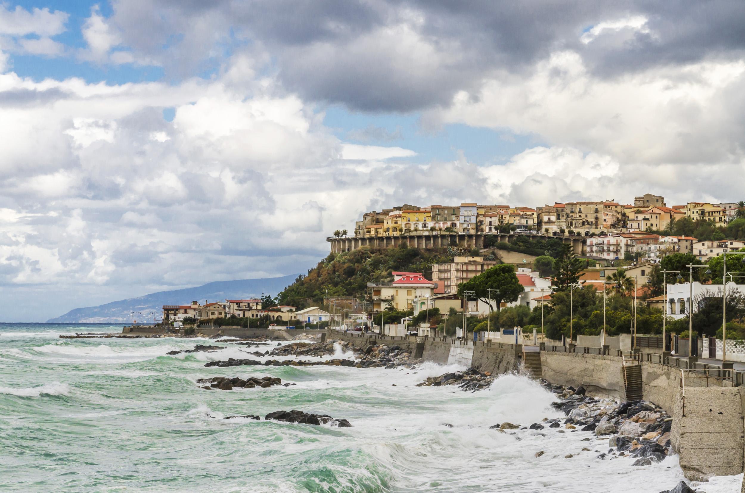 Coastline of Calabria