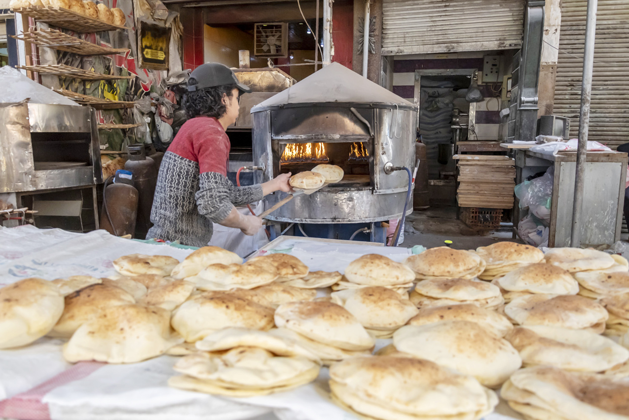 Making Bread in Cairo