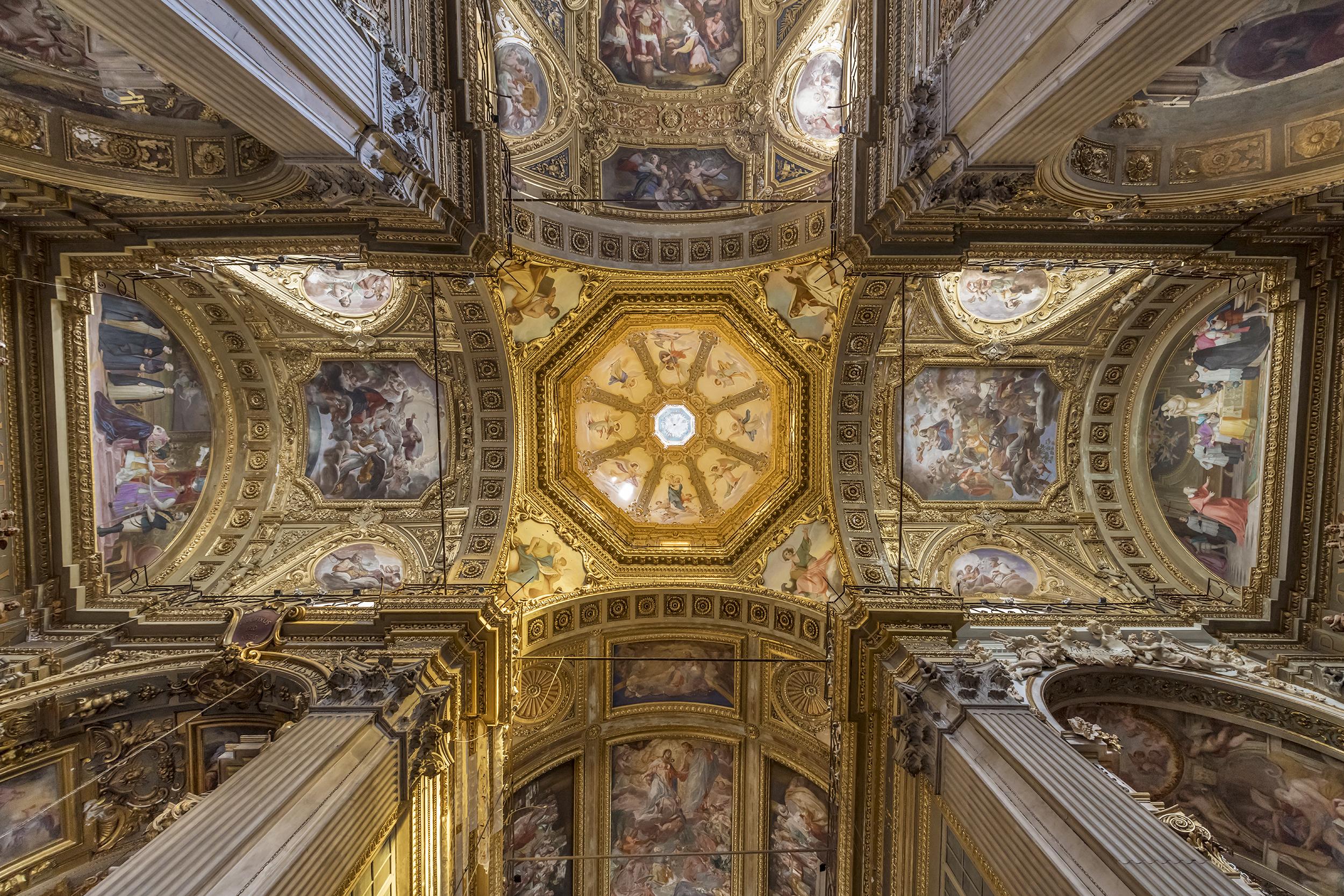 Saint Maria of Vigne Ceiling