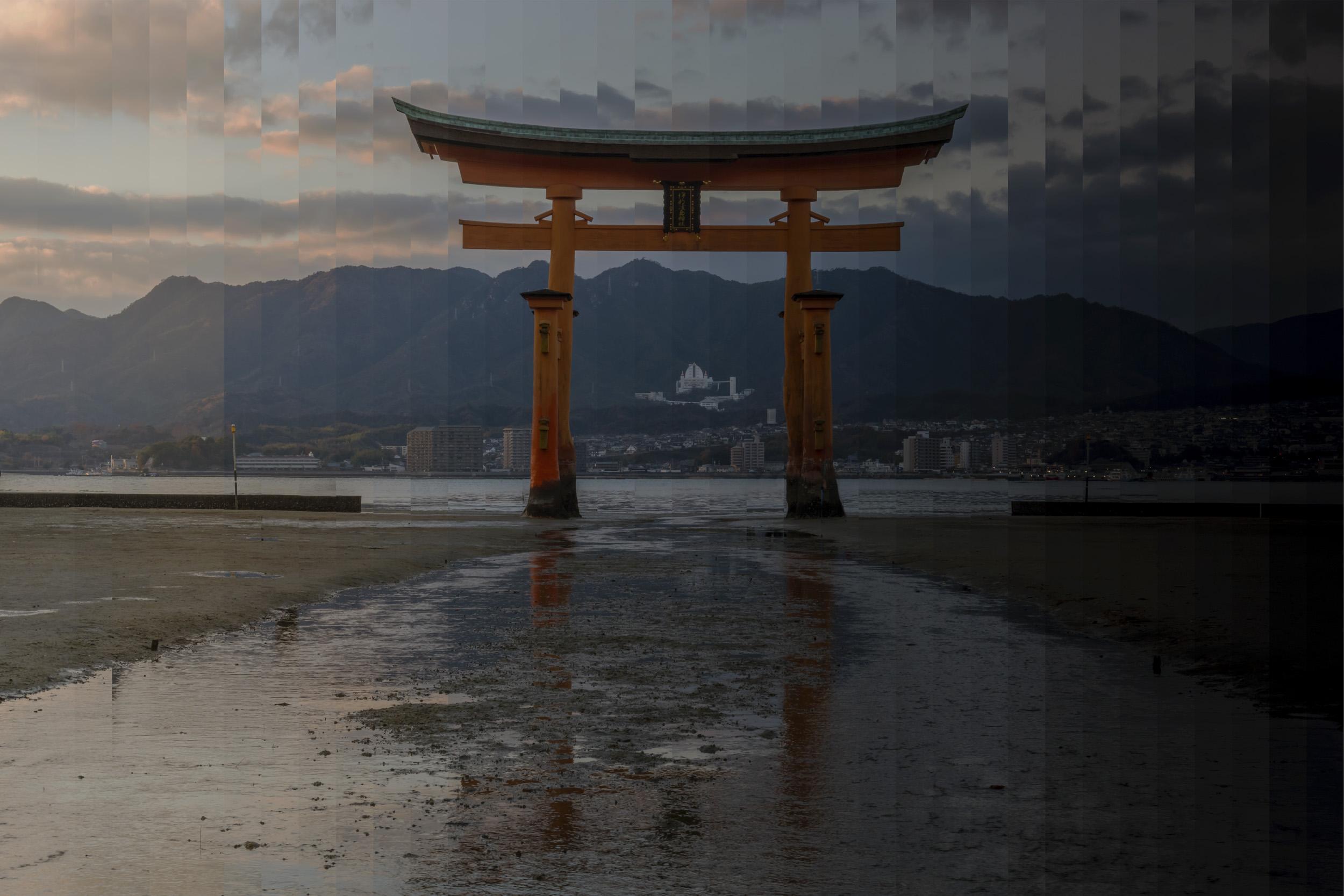 Itsukusjima Shrin, Hiroshima, Japan