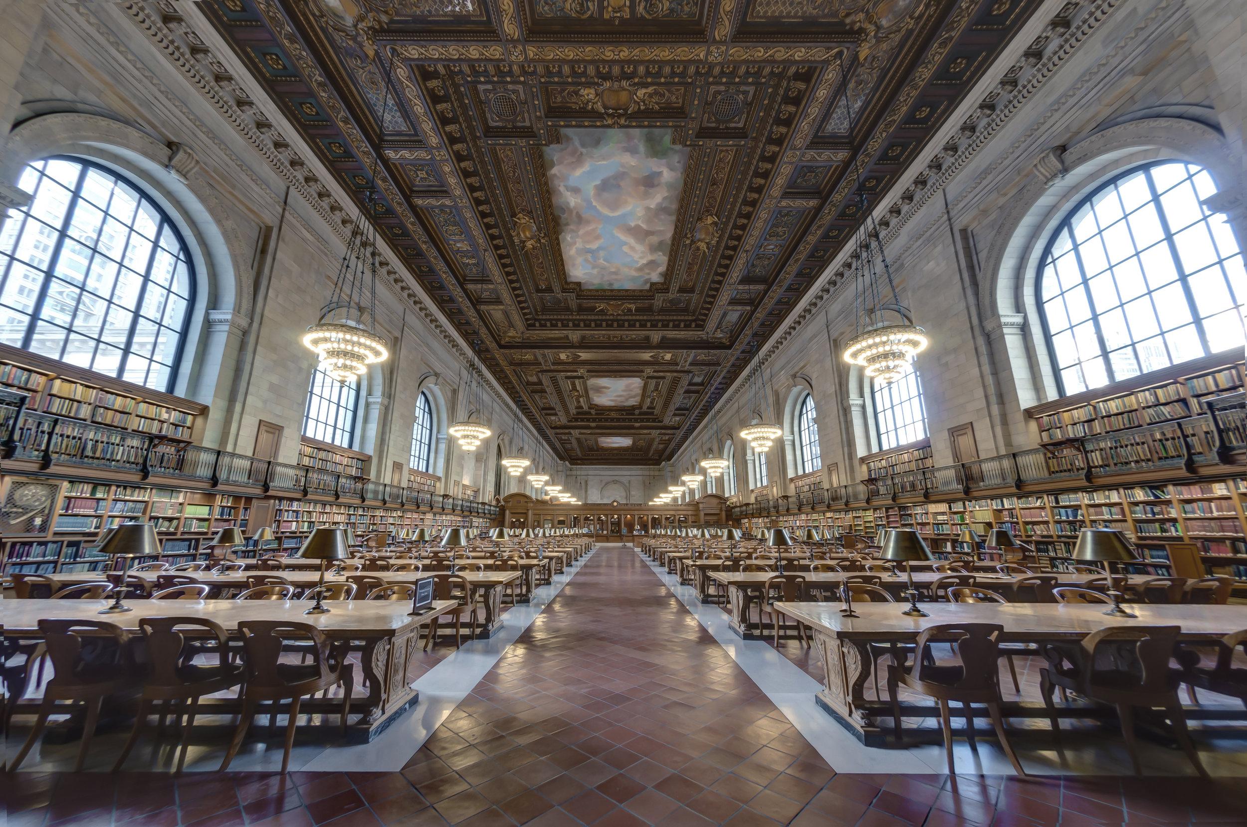 New York Public Library Main Reading Room