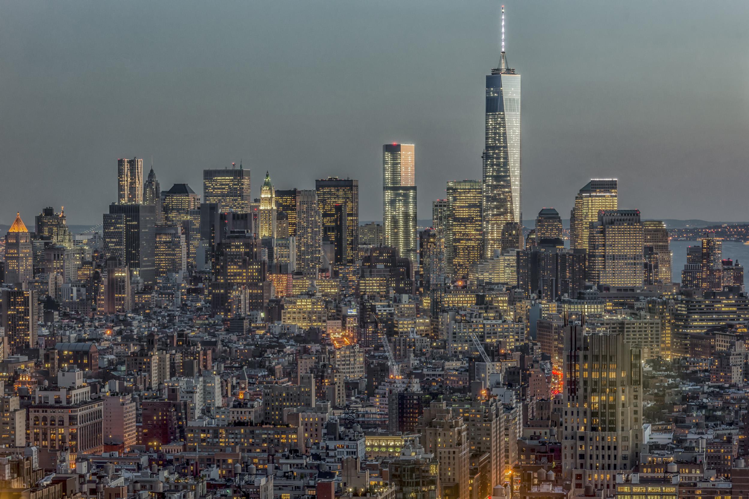 Downtown Skyline 12