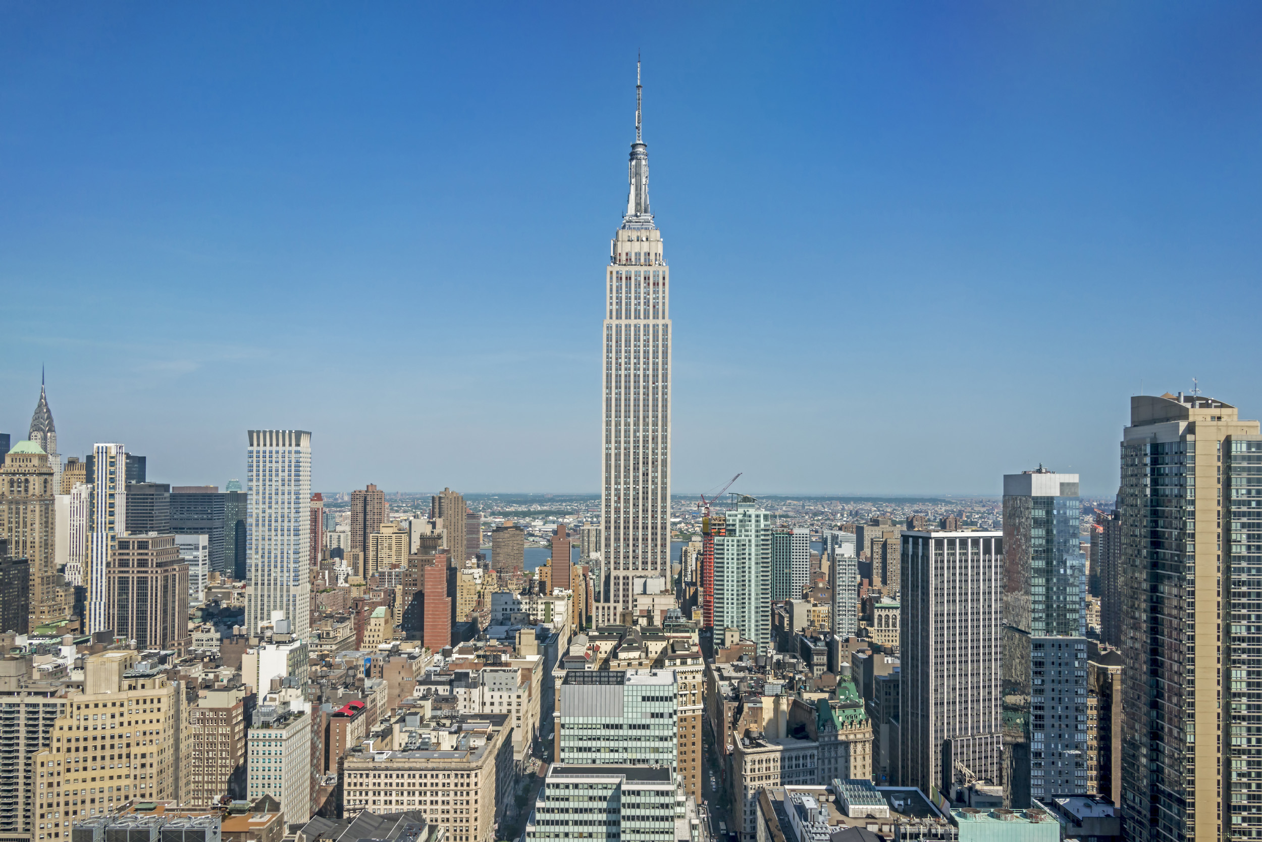 Empire State Building from 1 Penn Plaza