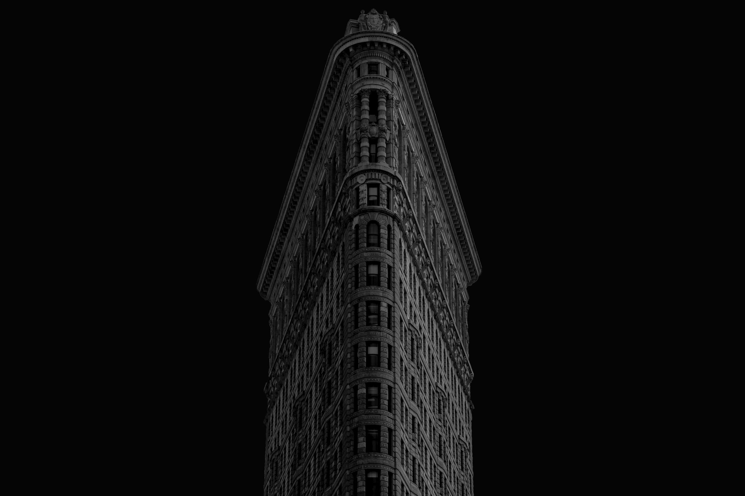 Flatiron Building B&W