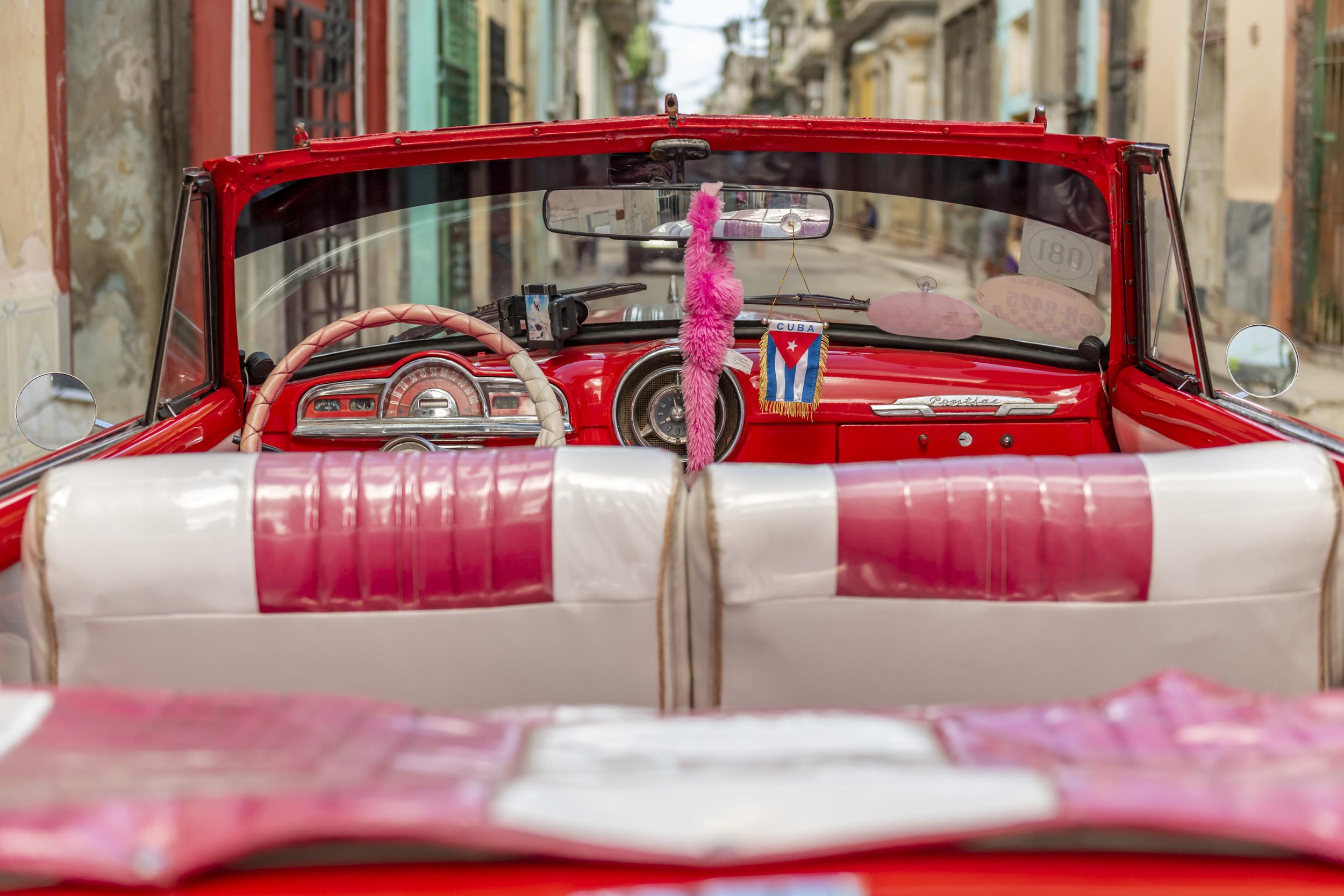 1950's Car - Havana, Cuba