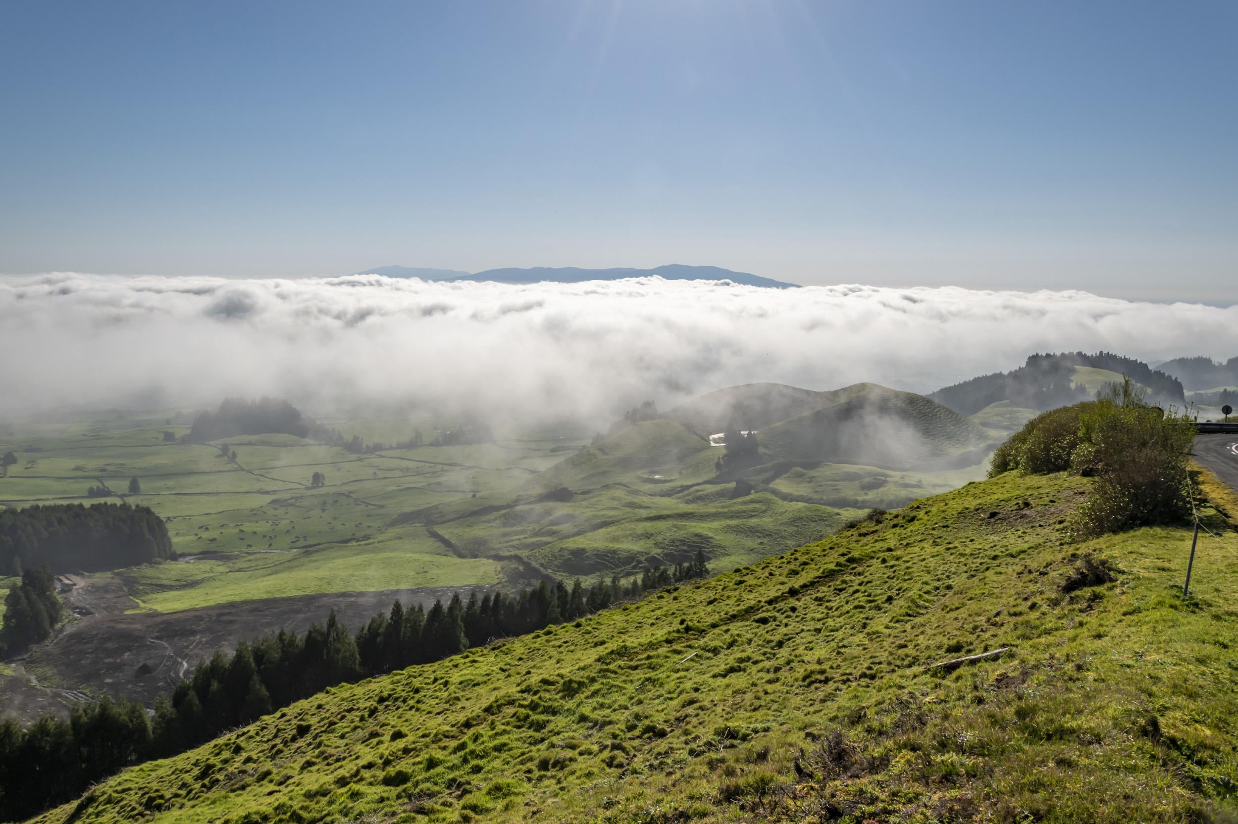 Morning Fog - Ponta Delgada, Portugal