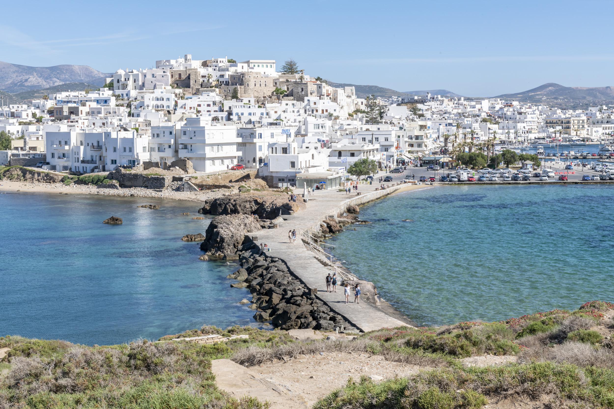 Road to Naxos - Naxos, Greece