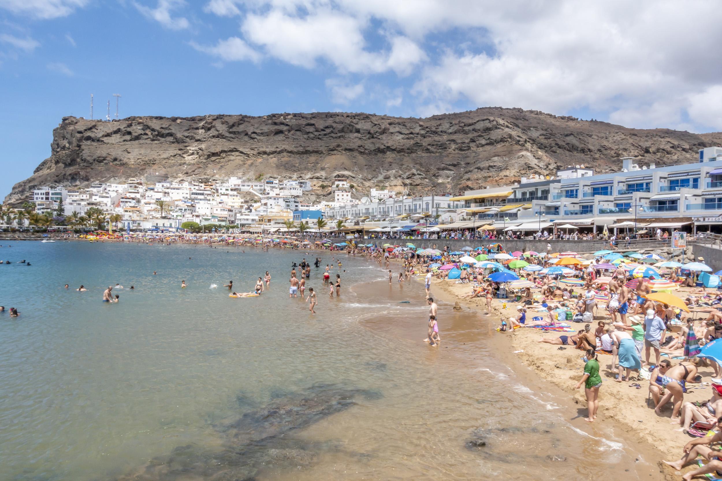 Puerto Rico Beach - Gran Canaria, Spain