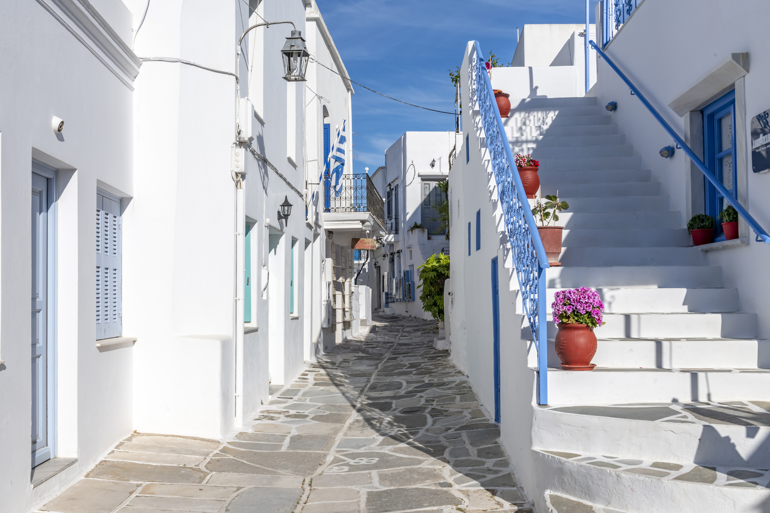 Streets of Paros - Paros, Greece