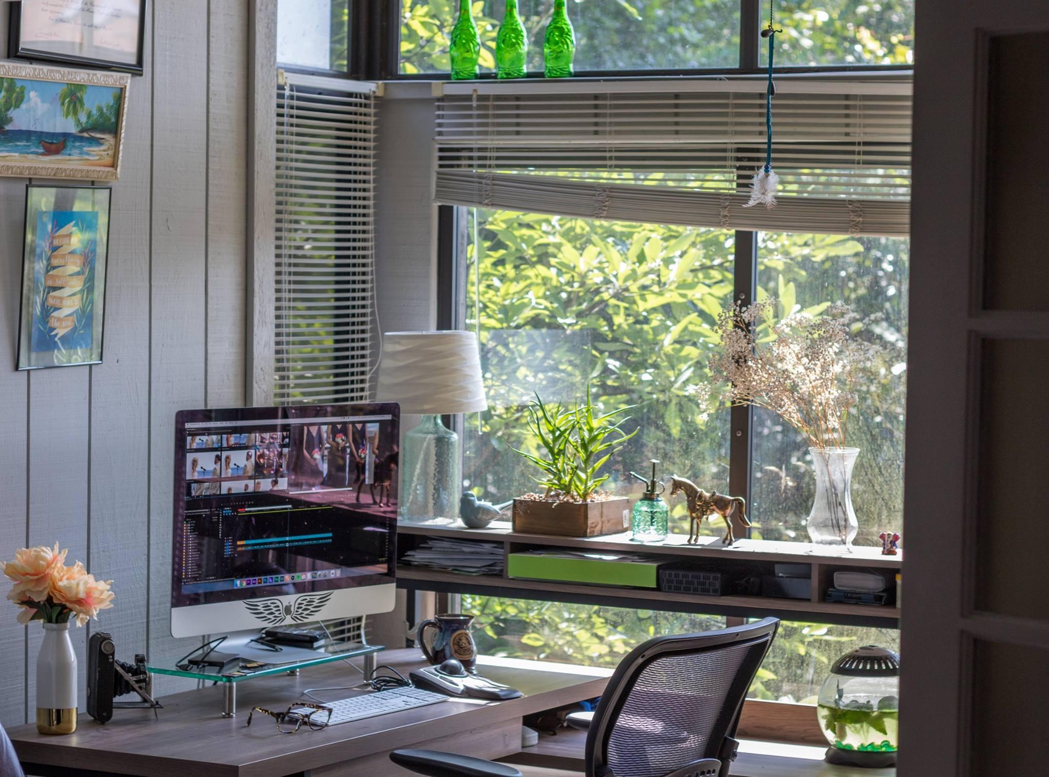 My beautiful home-office!
