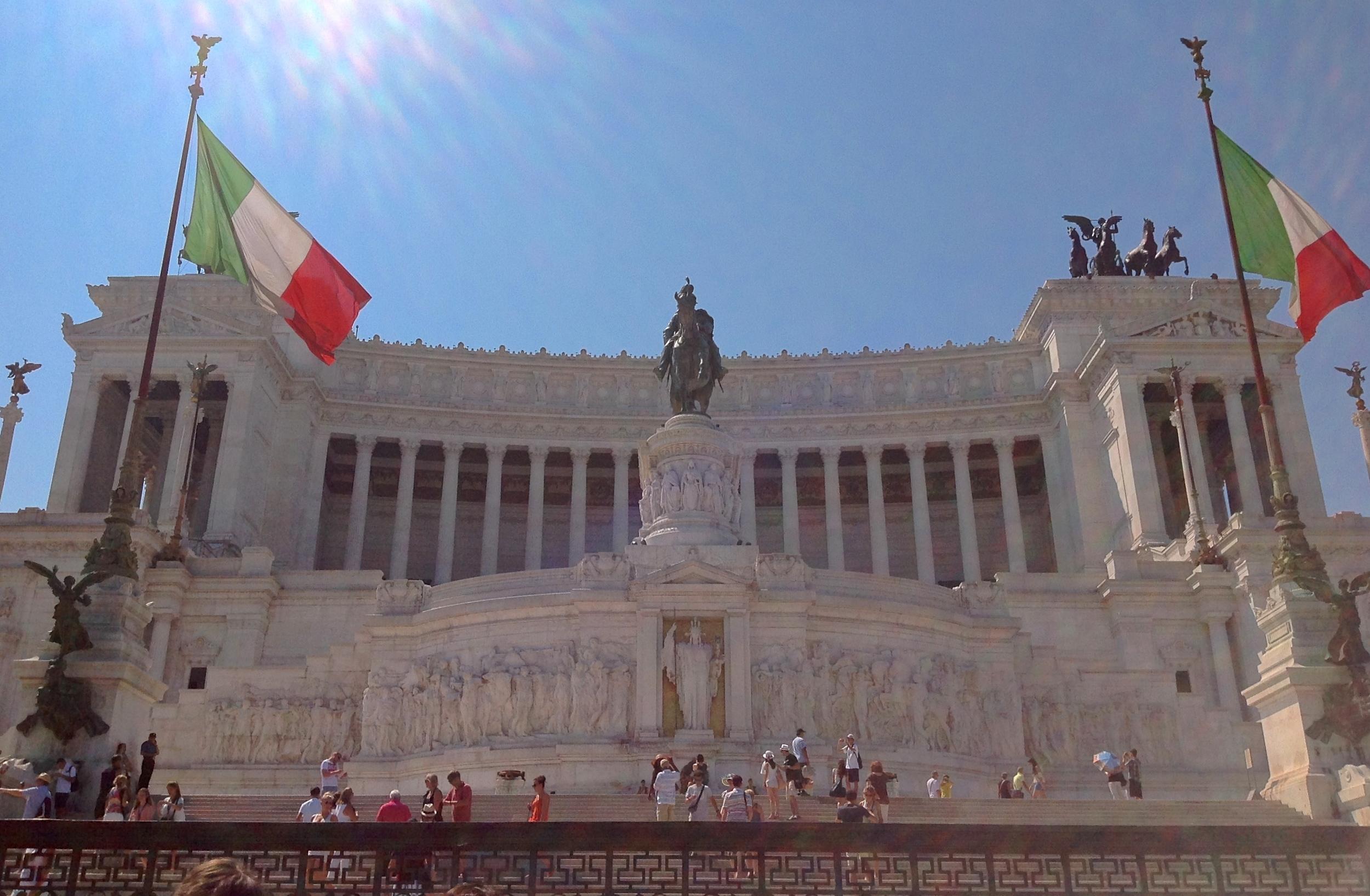 """L'Altare della Patria (or """"Il Vittoriano"""")"""