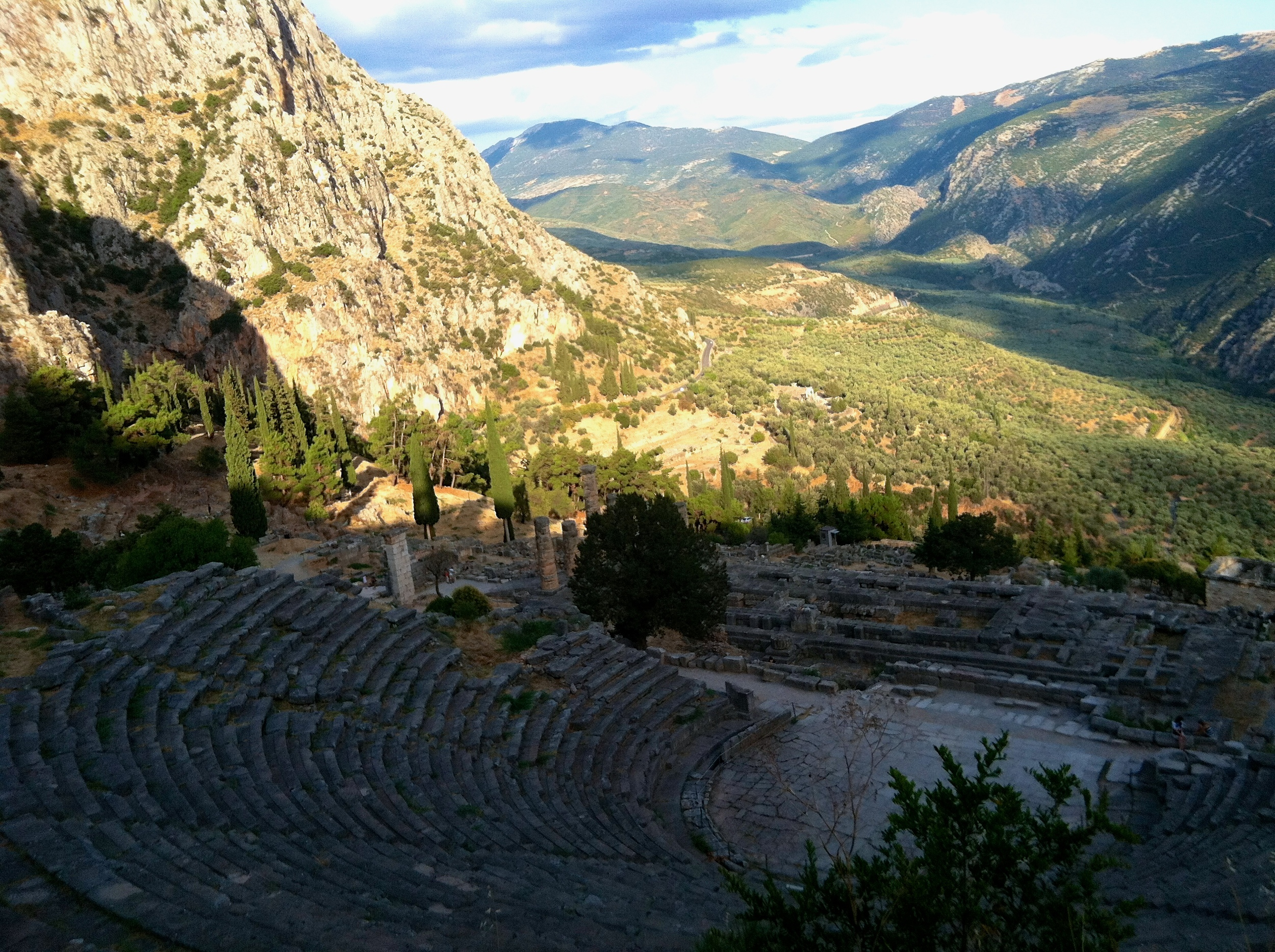 The Ancient Theatre at Delphi