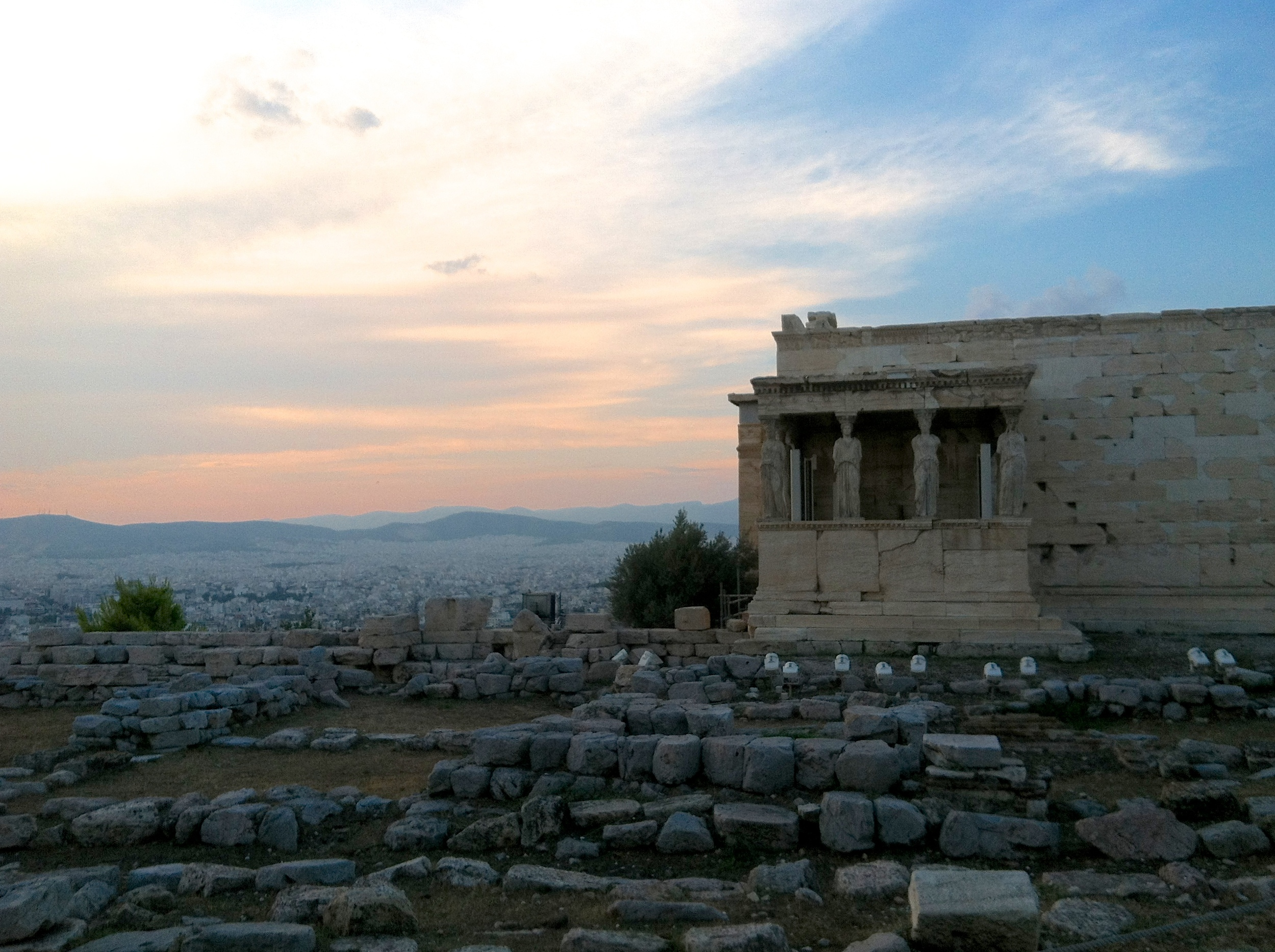 The Erechtheion, The Acropolis of Athens