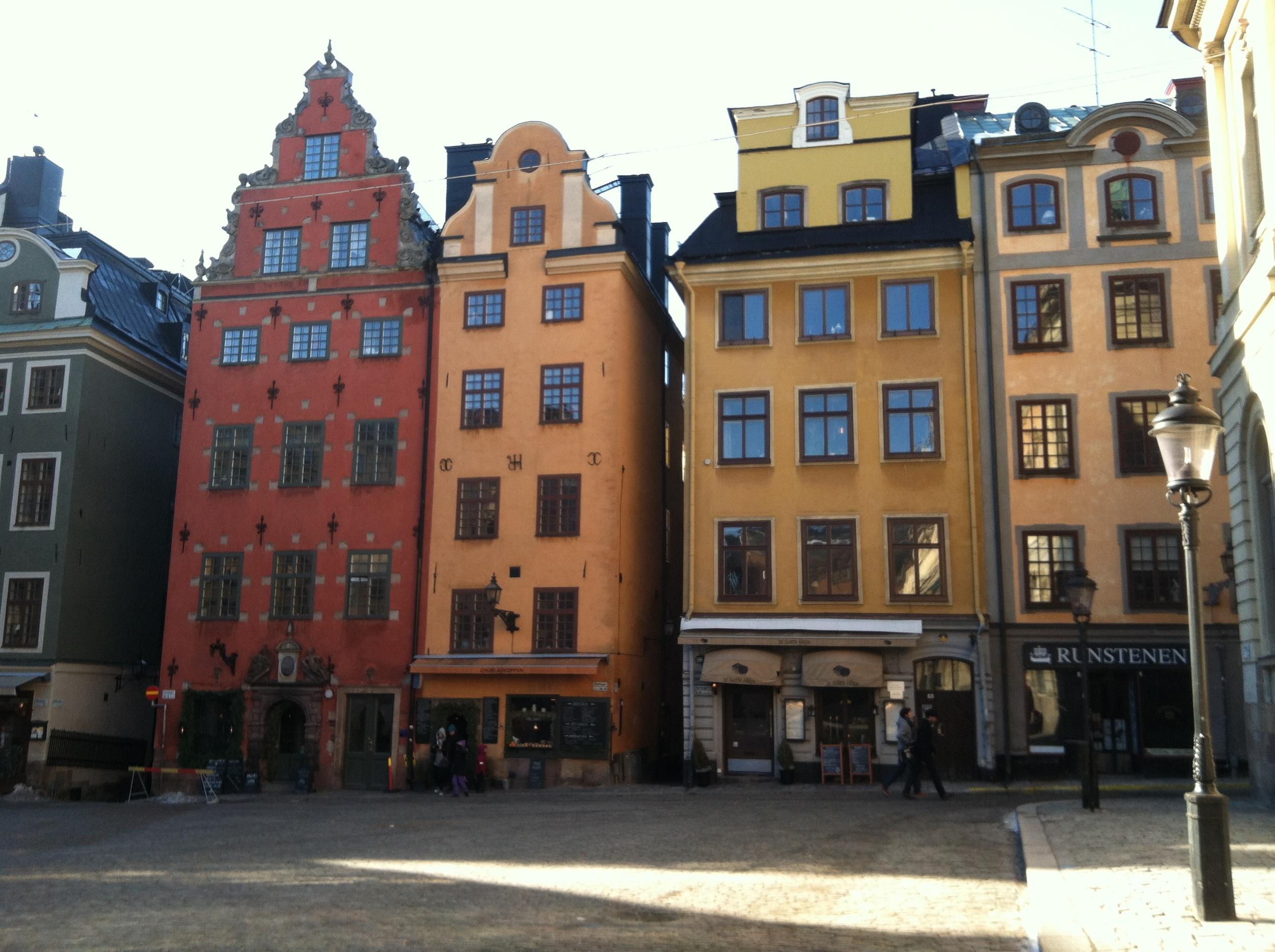 Stortorget inGamla Stan (Old Town), STockholm