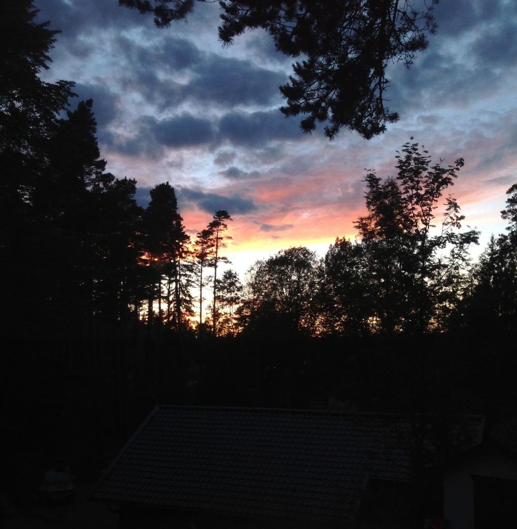 Midnight on Midsommar , the Summer SOlstice