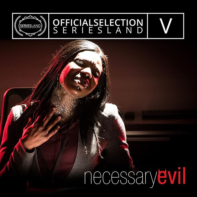 More great news today! Necessary Evil is an official selection of @biseriesland! So thrilled to be a part of this excellent festival!  #anyonewanttosendustospain #necessaryevilseries #teamevil #yegfilm #webseries #corporatehell #moviemaking #storyhive #movie #film #filmmaking #movie #hell #movies #famous #indiefilm #production #filmlife #yeg #festival #screening
