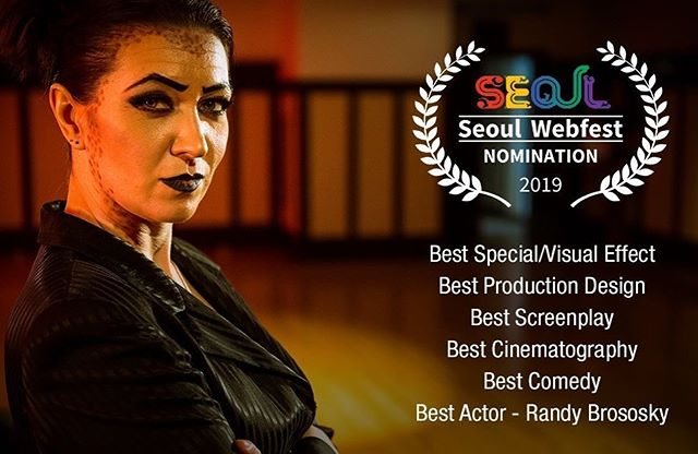 So honoured to receive six nominations from the @seoulwebfest for Necessary Evil!  Guess we're going to South Korea!  #necessaryevilseries #teamevil #yegfilm #webseries #corporatehell #moviemaking #storyhive #movie #film #filmmaking #devil #demon #festival #makingmovies #supportindiefilm
