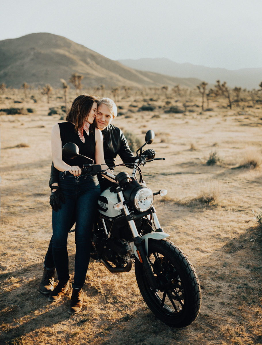 joshua tree motorcycle engagement photos-22.jpg